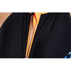 speedo Stormza 1 Piece Maillot de bain 1 pièce Femme, black/orange